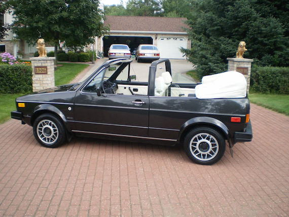 My Love For The Mk1 Volkswagen Body Styles Is Well Doented And It Extends Even To Little Sister Cabrio Today S Has Covered A Shockingly Low 28k