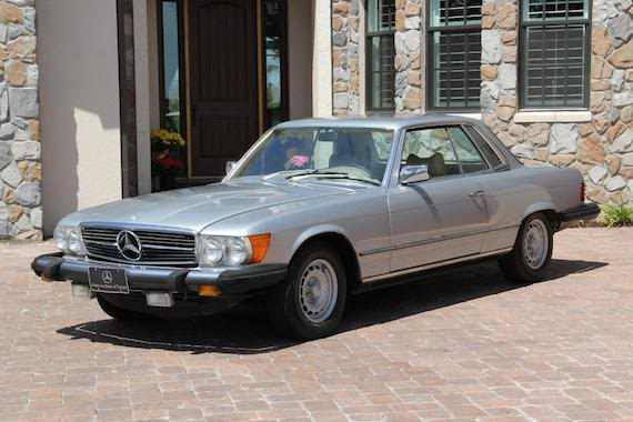 1976 Mercedes Benz 450slc With 54k Miles German Cars For