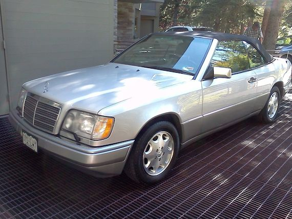 1995 Mercedes Benz E320 Cabriolet German Cars For Sale Blog