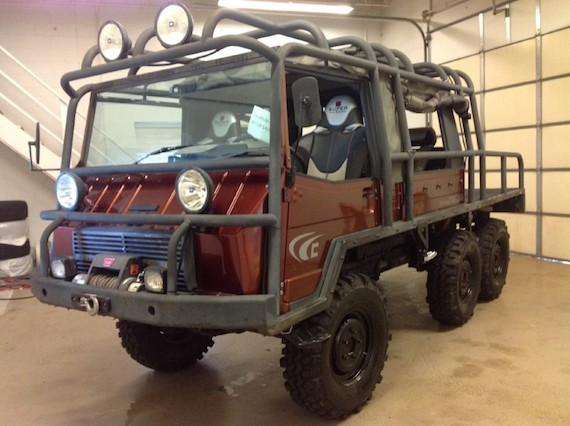 1972 Pinzgauer 712m German Cars For Sale Blog