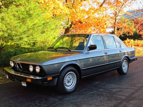 1985 Bmw 524td German Cars For Sale Blog