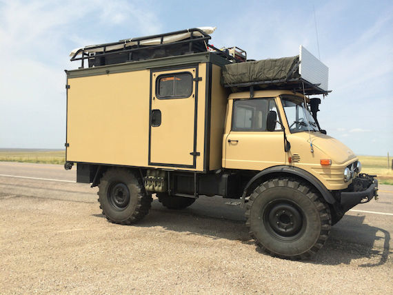 1979 Mercedes Benz Unimog Camper German Cars For Sale Blog