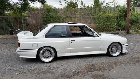 Fake It Til You Make It 1986 Bmw M3 Tribute German Cars For Sale