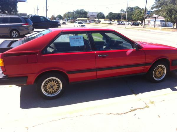 1984 Audi Coupe GT v 1986 Volkswagen Scirocco  German Cars For