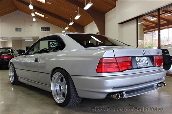1991 bmw 850i with 6-speed manual and only 11k miles for sale.