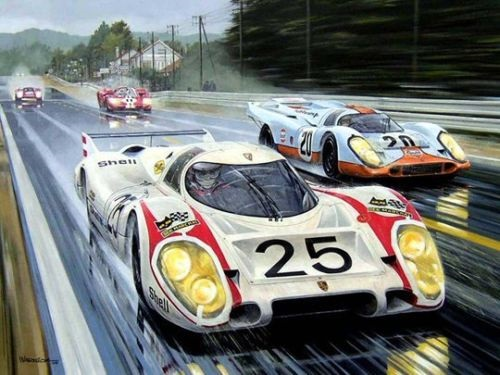 Art and the Automobile: Porsche Racing | German Cars For Sale Blog