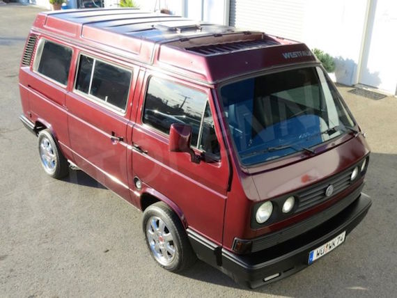 1990 Volkswagen Vanagon Westfalia – German Cars For Sale Blog