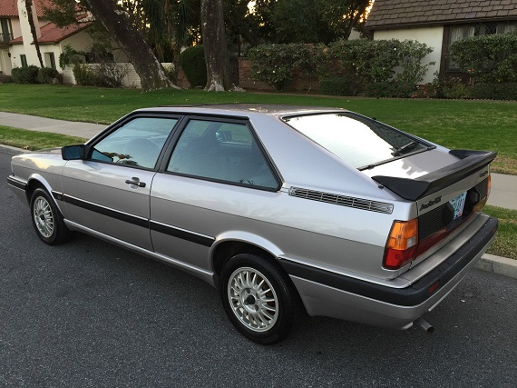 1985 Audi Coupe GT | German Cars For Sale Blog