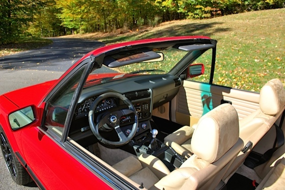 Feature Listing – 1990 BMW 325i Convertible with M50 swap