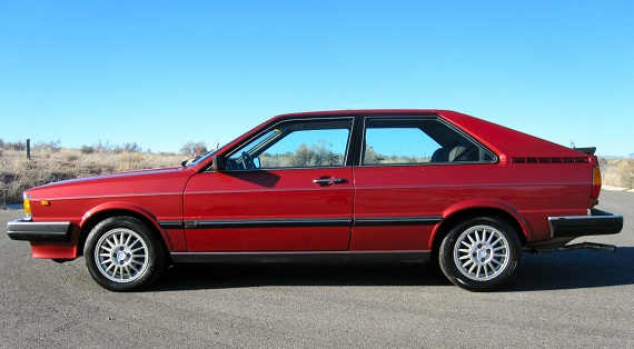 1982 Audi Coupe   German Cars For Sale Blog