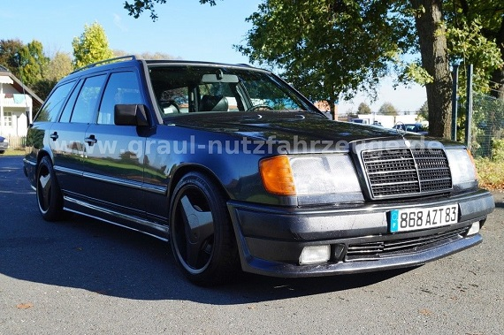 Tuner Tuesday 1989 Mercedes Benz 300te Brabus German Cars For