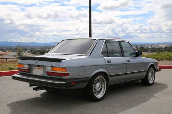 Los Angeles Craigslist Cars >> 1986 BMW 535i – German Cars For Sale Blog