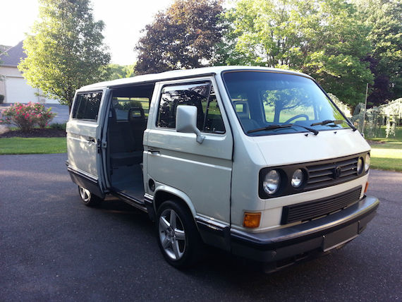 48137fc1f168aa 1990 Volkswagen Vanagon Carat Weekender – German Cars For Sale Blog