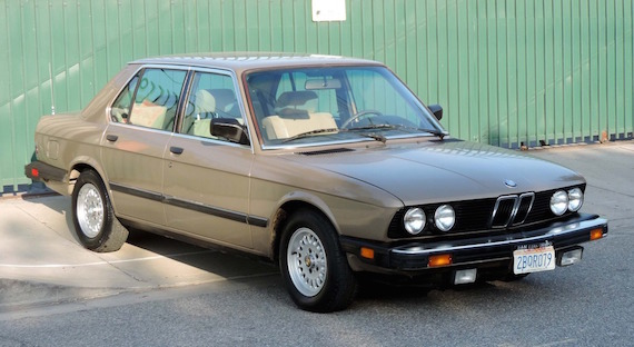 1986 BMW 528e – German Cars For Sale Blog