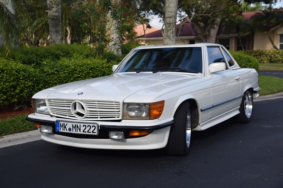 Tuner Tuesday 1985 Mercedes Benz 500sl Amg German Cars