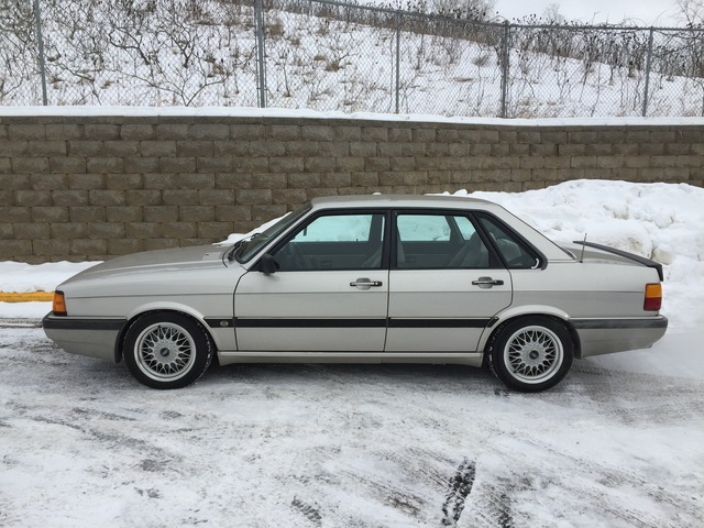 Back Again 1985 Audi 4000s Quattro German Cars For Sale