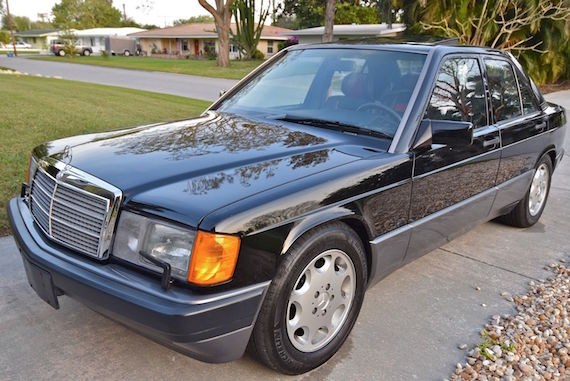 1993 mercedes benz 190e 2 6 limited edition german cars for Mercedes benz limited edition