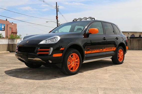2010 Porsche Cayenne S Transsyberia German Cars For Sale