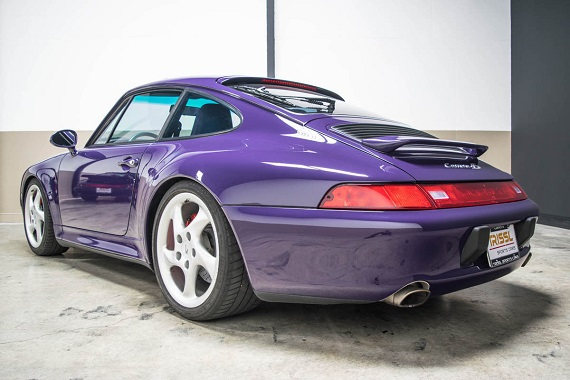 The Striking Amaranth Violet 1996 Porsche 911 Carrera 4s Which We Featured Almost Exactly One Year Ago Has Come Back Up For From A New Er