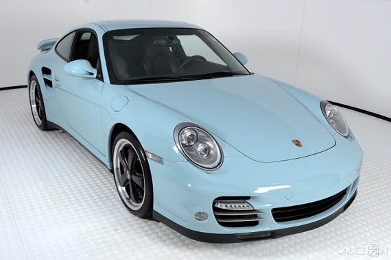 Paint To Sample 2012 Porsche 911 Turbo Coupe German Cars