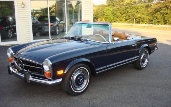 1971 Mercedes-Benz 280SL with M104 swap – German Cars For