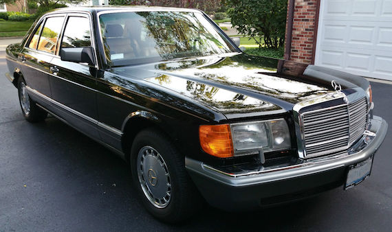 1990 Mercedes Benz 560sel German Cars For Sale Blog