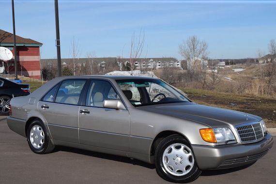 1992 Mercedes Benz 500sel German Cars For Sale Blog