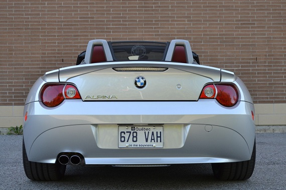 Tuner Tuesday 2003 Bmw Z4 Alpina Roadster S Tribute