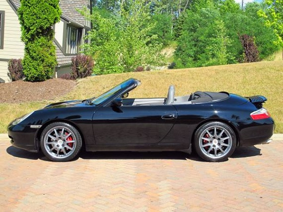 Feature Listing 2000 Porsche 911 Carrera Cabriolet German