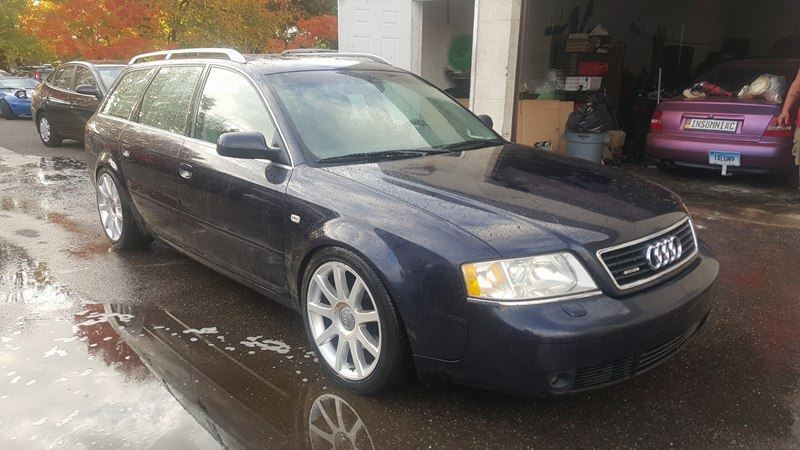 Just Because? 2001 Audi A6 Avant 2 7T 6-speed – German Cars