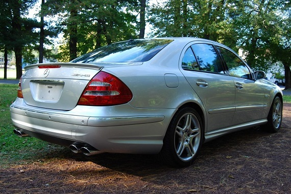 Feature Listing: 2003 Mercedes-Benz E55 AMG – German Cars