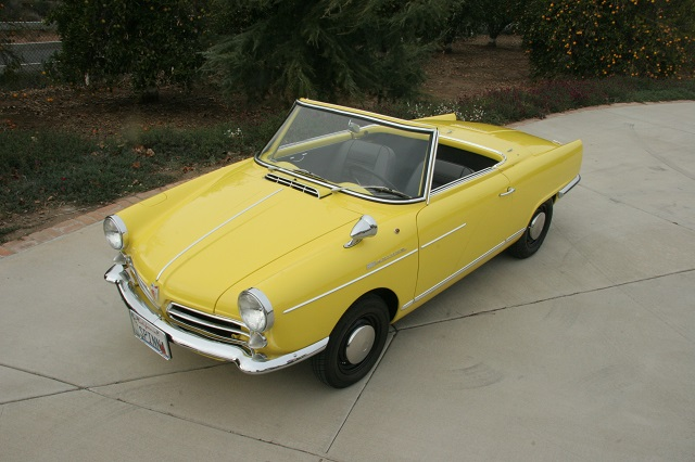 Feature Listing 1965 Nsu Spider