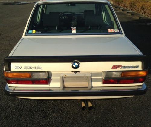 Bmw B7 Alpina For Sale: Tuner Tuesday: 1987 Alpina B7 Turbo/3