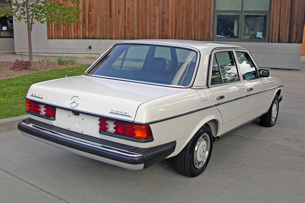 1983 mercedes benz 240d german cars for sale blog for Mercedes benz 240 d