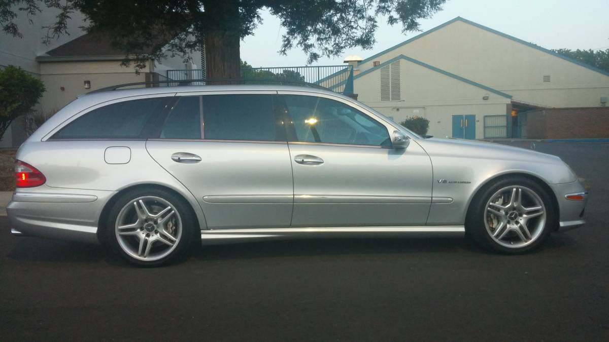 Who Buys Cars Near Me >> 2005 Mercedes-Benz E55 AMG Estate – German Cars For Sale Blog