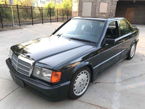 1986 mercedes benz 190e 2 3 16 german cars for sale blog. Black Bedroom Furniture Sets. Home Design Ideas