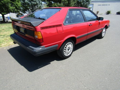 1984 Audi Coupe GT  German Cars For Sale Blog