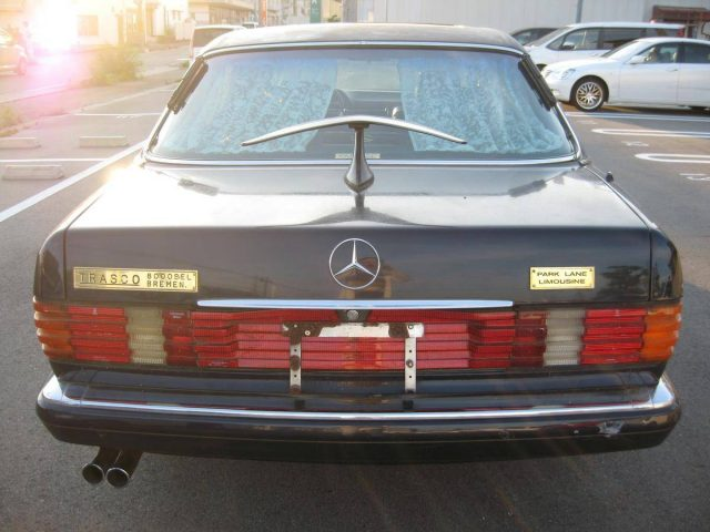1990 mercedes benz 500sel limousine german cars for sale for Mercedes benz limousine price