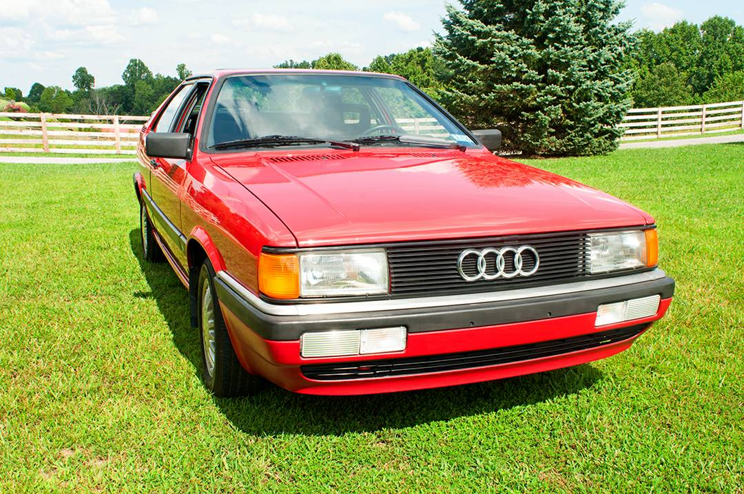 1986 Audi Coupe GT with 3,390 Miles | German Cars For Sale ...