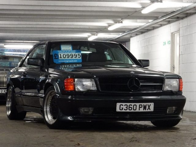 1989 Mercedes Benz 560sec Amg Widebody German Cars For Sale Blog