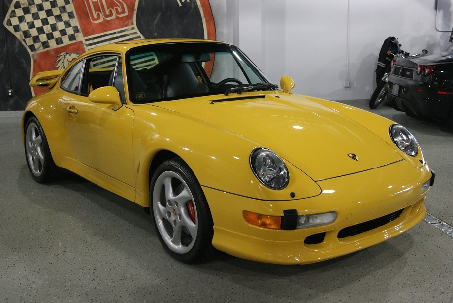 1997 porsche 911 carrera 4s with 1 096 miles german cars. Black Bedroom Furniture Sets. Home Design Ideas
