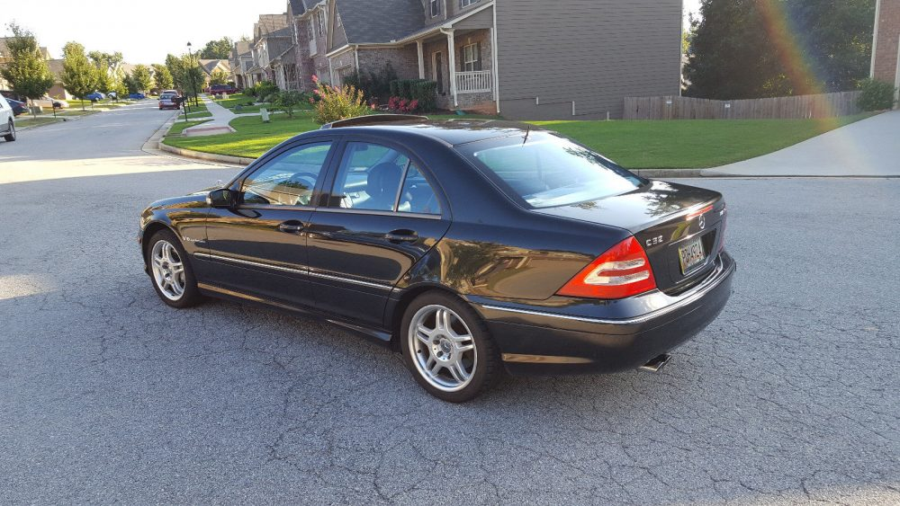 59af4ab7d3 2002 Mercedes-Benz C32 AMG – German Cars For Sale Blog