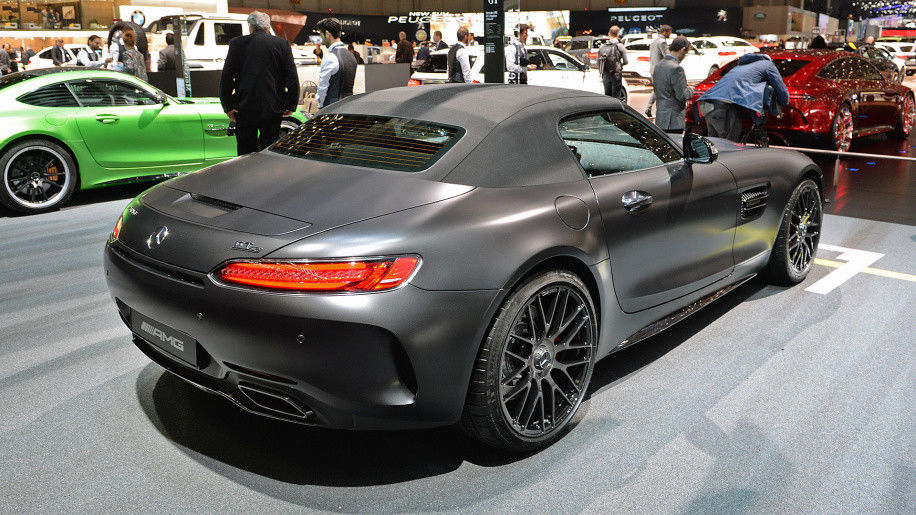 2018 Mercedes Amg Gt C Roadster Edition 50 German Cars