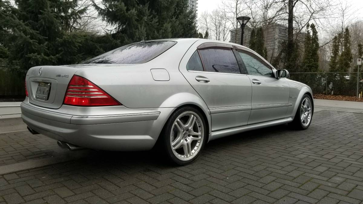 2003 mercedes benz s55 amg widebody german cars for sale blog. Black Bedroom Furniture Sets. Home Design Ideas