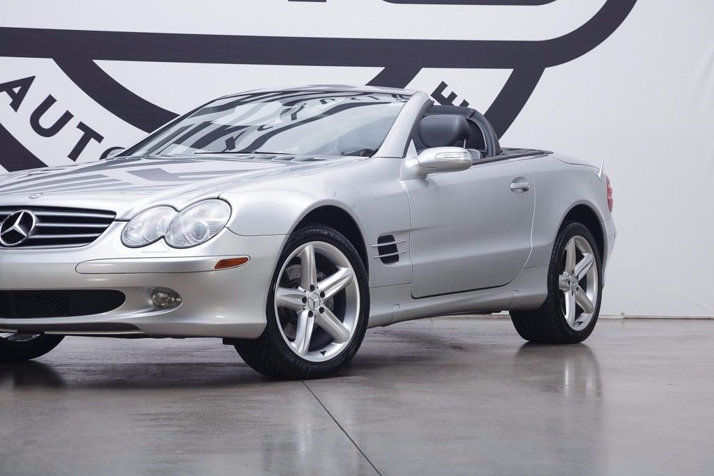 2005 Mercedes Benz Sl500 For 9 000 German Cars For Sale