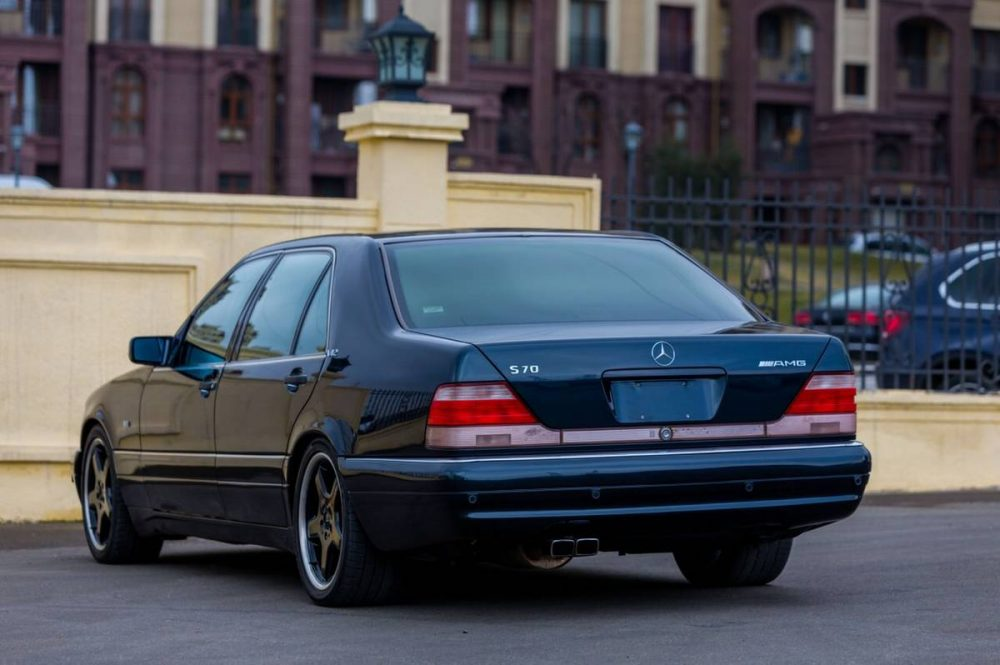 1996 Mercedes Benz S70 Amg German Cars For Sale Blog