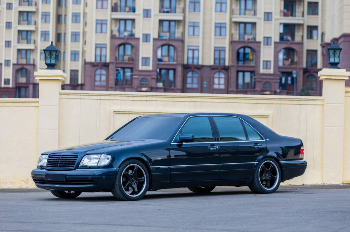 1996 Mercedes-Benz S70 AMG – German Cars For Sale Blog
