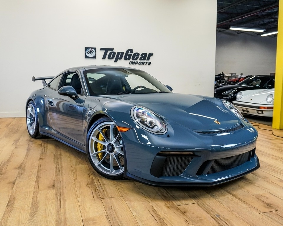 2018 Porsche 911 Gt3 German Cars For Sale Blog