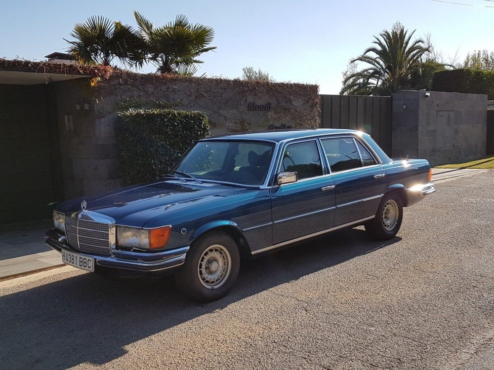 efc74f95a3 King Juan Carlos I of Spain s 1978 Mercedes-Benz 450SEL 6.9 – German ...