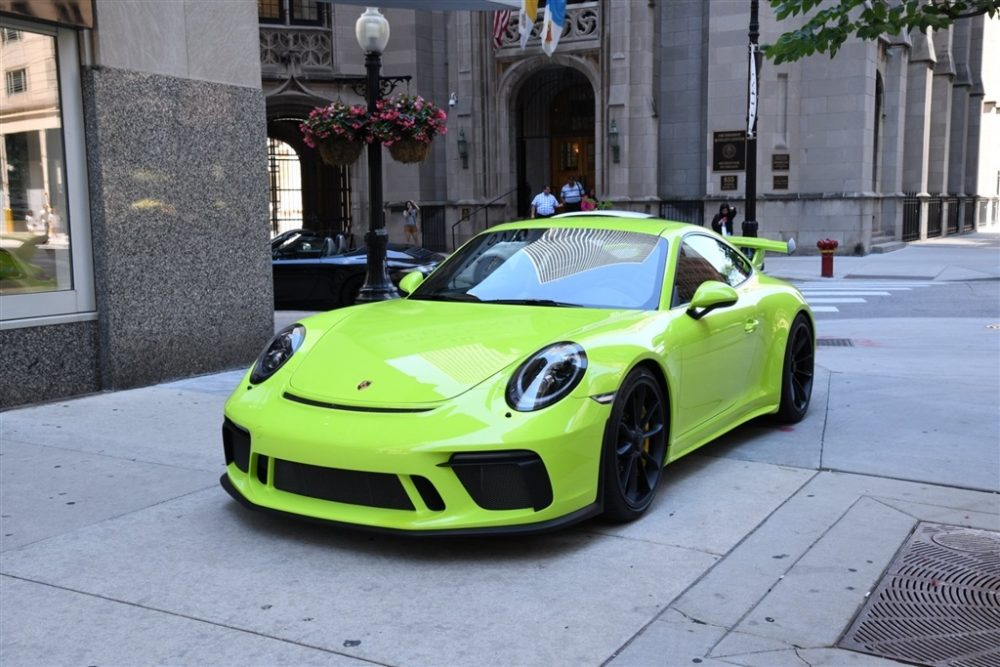 Acid Green 2018 Porsche 911 Gt3 German Cars For Sale Blog